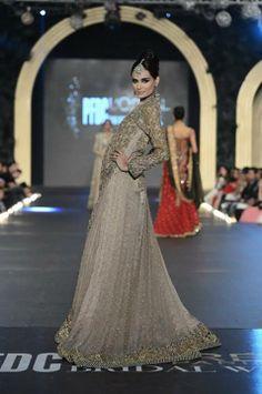 Sana Safinaz Bridal Collection at PLBW 2013.