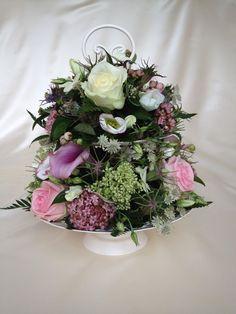 Cake stand centre piece xxx Chanan's Floral Events