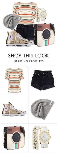 """""""Shopping✌️✌"""" by shaniq123 ❤ liked on Polyvore featuring Oasis, Levi's, Converse and Charlotte Russe"""
