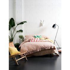 Blush Elka Quilt Cover Set - Revitalise Your Bedroom - T&W Blended Events