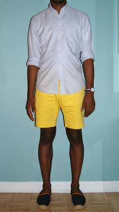Yes.. love those yellow shorts - need to invest