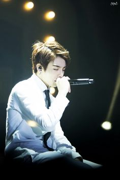 Jungkook is singing