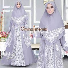 Rabiya Set syari by Amina Mernizi Fashion, Moda, La Mode, Fasion, Fashion Models, Trendy Fashion