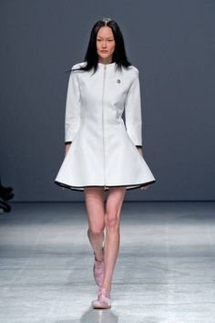 Aganovich Spring 2013 Ready-to-Wear Runway - love the silhouette