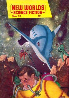 Thrilling Vintage SF pulp art
