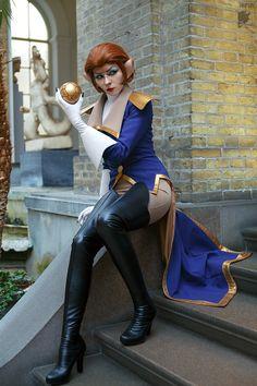 Legendary Pirate Captain Amelia Flint from Disney's Treasure Planet by Ryoko-demon.deviantart.com