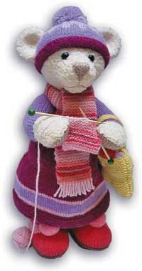 Alan Dart's personal website - popular knitted and crocheted amigurumi artist #knitting #crochet #amigurumi