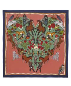 I love everything silk scarf, Liberty London.