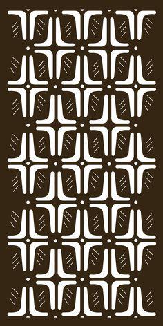 Kenyan (KYN) Screen Pattern from Parasoleil Cnc Cutting Design, Laser Cutting, Black And White Art Drawing, Shade Screen, Room Divider Doors, Global Home, Safari Party, Metal Panels, Decorative Panels