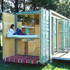 Shipping container home!!