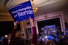 Bernie Sanders Has Raised $5.2 Million Since The Polls Closed In New Hampshire  The average contribution is just $34. posted on Feb. 10, 2016, at 2:20 p.m.