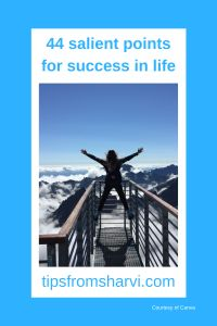 #ad 44 salient points for success in life (Full disclosure on my blog) #success #successful
