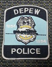DEPEW, NEW YORK POLICE PATCH