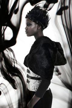 AW15 Kat van Duinen collection     Photography: Diaan de Beer  Model: Patricia Laloyo  Hair and make up: Mary Gouveia