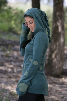 Bubble Pixie Hoodie -except no weirdness on the hood lol