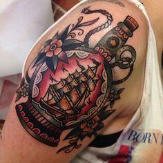 Matt Houston, Gastown Tattoo Parlor Vancouver @matthew_houston