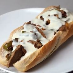 Likes, 15 Comments - Food Kabob Recipes, Dessert Recipes, Desserts, Easy Recipes, Cheesesteak Sliders Recipe, Buzzfeed Food Videos, Steak And Chips, Cheese Twists, Twisted Recipes