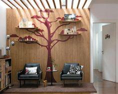 Marco Ponce, fotógrafo e designer gráfico, criou uma descolada parede em su...