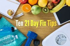 The best 21 Day Fix tips to help you stay on track your entire round without giving up!
