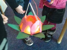 Beautiful water lily lantern