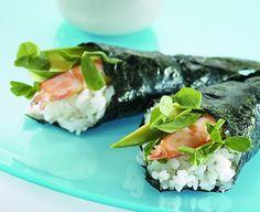 Hand Wrapped Sushi (Temaki-Zushi) - SunRice