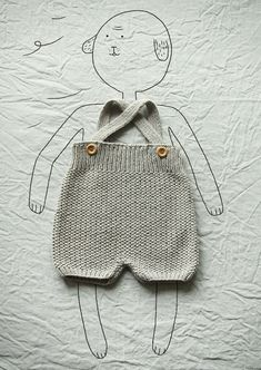 TRICOT RETRO A too cute hand made knitting collection for babies (until I . Baby Knitting Patterns, Knitting For Kids, Baby Patterns, Knitting Projects, Hand Knitting, Crochet Patterns, Tricot Simple, Baby Kind, Knit Crochet