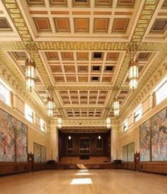 The first-class colour matching service and product specification delivered by Johnstone's has ensured that the decoration of Brangwyn Hall's intricate ceiling has been completed to stunning effect.
