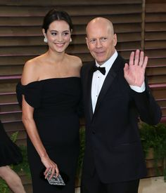 Pin for Later: The Hot Hollywood Mums of 2014 Emma Heming Emma Heming and Bruce Willis, who are already parents to 2-year-old Mabel, welcomed their daughter Evelyn Penn May.