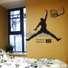 Vinyl  Basketball decal  sports Wall decal by thestickershut, $34.00
