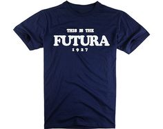 This Is The Futura 1927 Men's Tshirts Typography  by ZhengTshirt, $9.99