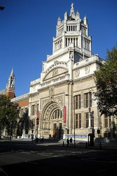 The Victoria and Albert Museum - I'd love to go back and spend more time here.
