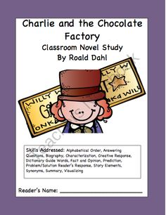 charlie and the chocolate factory character compare contrast  charlie and the chocolate factory literacy unit from kaylees klass on teachersnotebook com 53