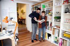 Freunde von Freunden — Katharina Mischer & Thomas Traxler — Designer , Apartment & Studio, Rudolfsheim-Fünfhaus, Vienna — http://www.freundevonfreunden.com/city/vienna/katharina-mischer-thomas-traxler/