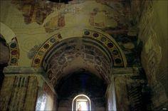 Arco de entrada capilla absidial sur