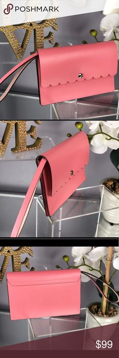 Kate Spade Mollie Bradbury St Pink Wristlet Wallet Kate Spade Mollie Bradbury Street Pink Wristlet Wallet  NWT...Brand New Color: Yuca/Dolce (pink/beige)  *Bag sold separately in my closet kate spade Bags Clutches & Wristlets
