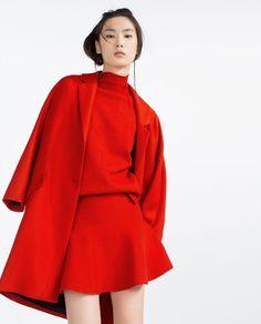 하이넥 스웨터-니트-Woman-SS16 컬렉션 | ZARA 대한민국