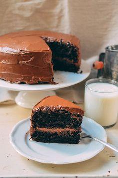 Our Favorite Chocolate Cake Recipe, by thewoksoflife.com - Ina's Recipe