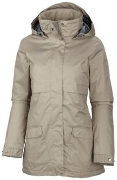 Women's Precipitation Nation™ Fleece Lined Rain Jacket. Perfect jacket for portland weather. A must have.