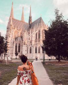Austria, Vienna, Votivkirche 9th District Instagram Travel, Vienna, Austria, Barcelona Cathedral, Louvre