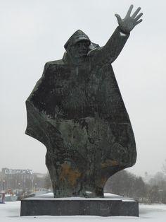 Memorial of the Polish 1st Tadeusz Kościuszko Infantry Division in North Praga, Warsaw, Poland.