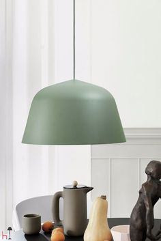 The Ambit Suspension Lamp was created by Jens Fager from TAF Architects for Scandinavian design company Muuto.Based in Stockholm, Muuto work with some of Led Pendant Lights, Pendant Chandelier, Ceiling Pendant, Pendant Lighting, Luminaire Design, Lamp Design, Berlin Design, Deco Nature, Muuto