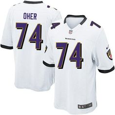 straight outta baltimore nike nfl baltimore ravens 74 michael oher game black alternate jersey sale