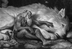 ArtStation - The Art of Warcraft Film - Frostwolf Elder, Wei Wang