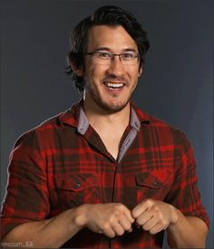 You know what this reminds me of? Mark being a fluffy dog in a plaid shirt.