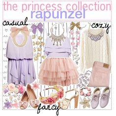 The princess collection: rapunzel.♡