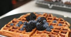I love waffles and had a recipe that I used for years. The recipe called for cornmeal which gave this nice texture to the waffles. But now, ...