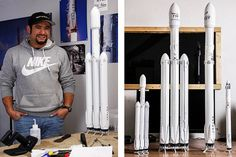 First Time 3D Printing User Creates Highly Detailed Models of SpaceX Rockets with Form 2 3D Printer | 3DPrint.com | The Voice of 3D Printing / Additive Manufacturing