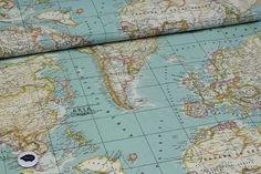 Blackoveja.com tela mapamundi