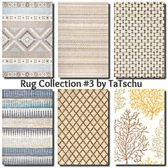 Contemporary Rug Collection at TaTschu`s Sims4-CC • Sims 4 Updates