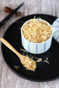 Dried Shredded Chicken (Chicken floss), Chà bông gà